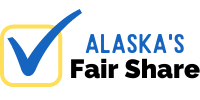 Vote Yes for Alaska's Fair Share Logo